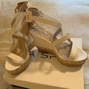 Via spiga wedge sandals